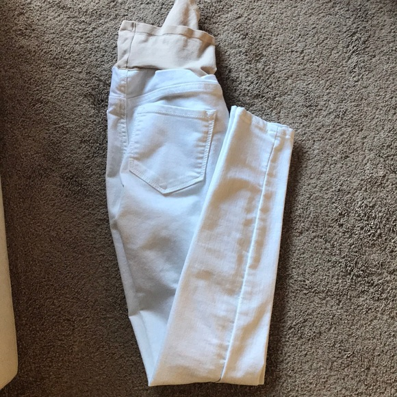 Old Navy Pants - White jeans maternity